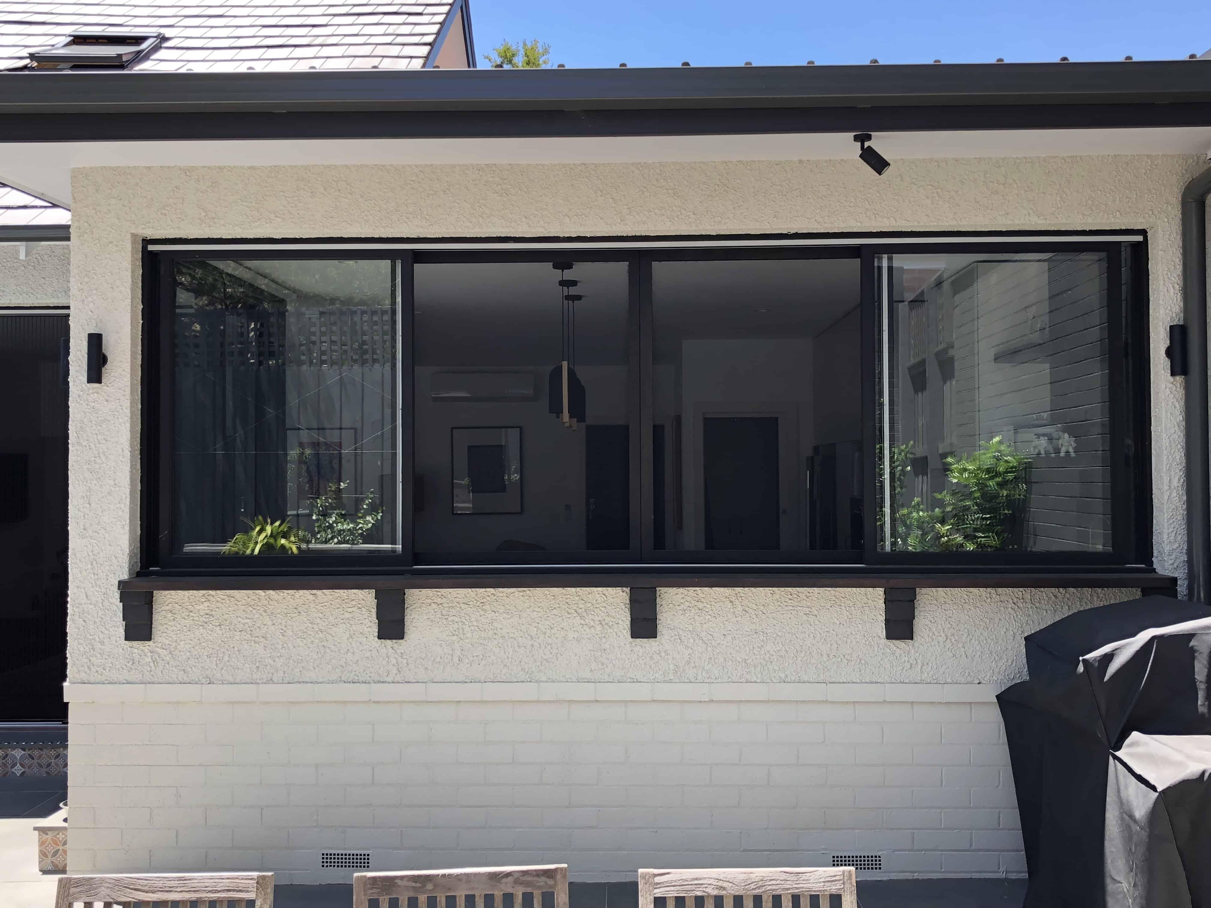 double sliding window